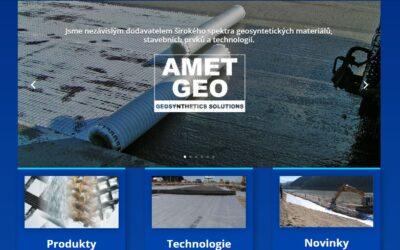 nový web AMET-GEO