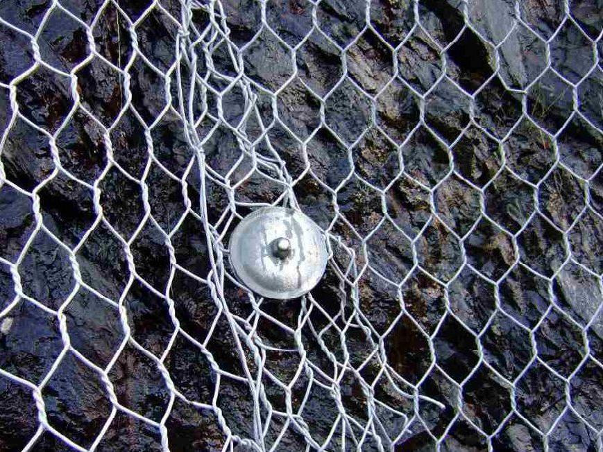 Ochranné ocelové sítě